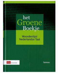 Groene boekje woordenlijst nederlandse taal