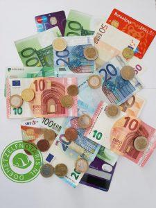 Geld en bankpassen